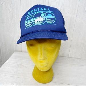 Vintage | Montana Snapback Trucker Hat